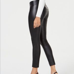 Bar III Coated Skinny Pants
